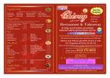 Pricelists of The Chirag Indian Restaurant