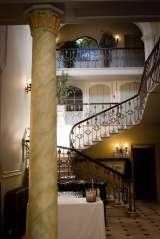 Hawkesyard Estate Staffordshire Wedding Venue - the Grand entrance in the Main Grade II Listed Hall