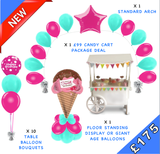 Pricelists of Daydream Balloons & Candy Cart Hire