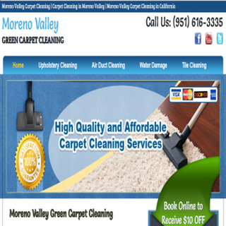 Moreno Valley Green Carpet Cleaning