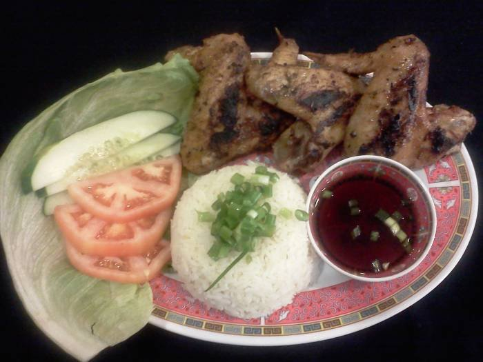 BBQ Chicken Wing Platter Menu Items of Vietnamese Express Cafe 531 Us Highway 1 - Photo 2 of 20