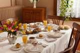 The heart of or B&B, the Dining Room can seat 12 for family style breakfasts