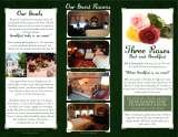 Menus & Prices, Three Roses Bed & Breakfast, Pontiac
