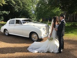 Silver Cloud Rolls Royce Elegance Wedding Cars Wedding Car Hire London Elmcroft Avenue
