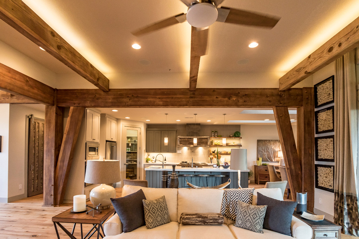 Parade of Homes 2015 Post And Beam Construction of Arrow Timber Framing 9726 NE 302nd St - Photo 4 of 7