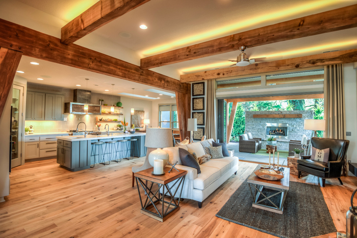 Parade of Homes 2015 Post And Beam Construction of Arrow Timber Framing 9726 NE 302nd St - Photo 6 of 7
