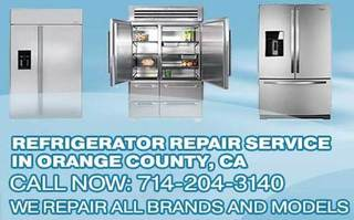 Refrigerator repair Orange County