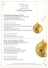 Pricelists of Old Coach House