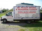 Mt. Pleasant Window & Remodeling Company's Business Vehicle - Box Truck.