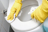 Bathroom cleaning of Maid Services, LLC
