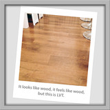 Who would guess this isn't wood?<br />