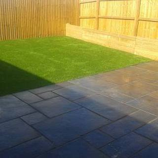 ksr landscaping garden fencing decking turfing patio