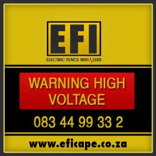 E.F.I Electric Fence Installers