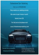 Folkestone car Valeting 20 linden crescent