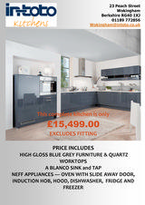 Menus & Prices, Intoto Kitchens Wokingham, Wokingham