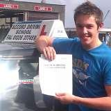 Doug passing his driving test with Accord Driving School Falmouth Accord Driving School 7 Woodside