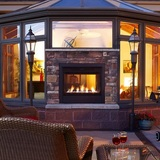 Fireplaces, Gas Fireplace Logs, Fireplace Inserts, Glass Fireplace Doors, Fireplace Screens, Fireplace Accessories, Gas Heaters, Patio Furniture, and Grills.