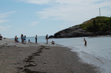 The beach at Pea Point. Free access year round. Harbour Tide Inn ~ Bed & Breakfast 725 Main Street
