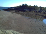 The beach at low tide Harbour Tide Inn ~ Bed & Breakfast 725 Main Street