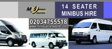 Pricelists of Wedding Minibus Hire London with Driver