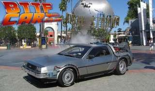 Hire a Delorean Time Machine