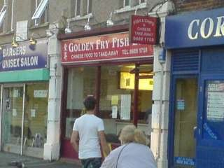 Golden Fry Fish Bar - Chinese Food to Take Away