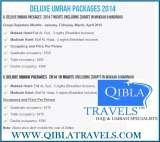 Pricelists of Qibla Travels Ltd