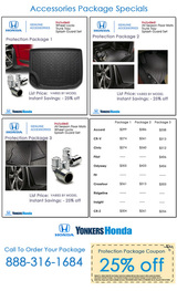 Pricelists of Yonkers Honda