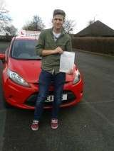Passed First Time of Drivemark Driving School