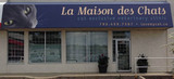 Photo showing the outside of our vet clinic as taken from the parkikng lot. La Maison des Chats 12 Inglewood Dr, #140