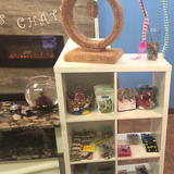 Various cat related toys, treates, scratching posts and other goodies are available. La Maison des Chats 12 Inglewood Dr, #140