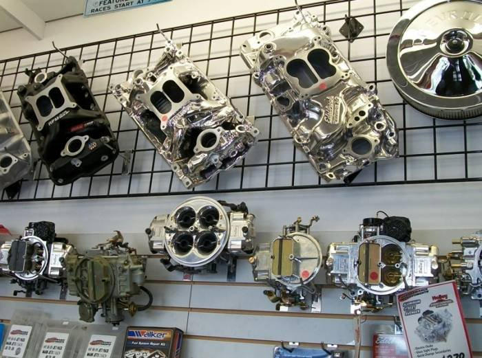 We are a traditional speed shop, Edelbrock, Flowmaster Mufflers, Hedman Hedders, Holley Carburetors, in stock at Performance Improvements Barrie. Profile Photos of Performance Improvements Barrie 422 Dunlop Street West - Photo 7 of 12