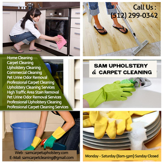 Sam Upholstery & Carpet Cleaning | Home Cleaning in Pflugerville