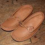 Men's Handmade Double Soft Sole Genuine Cowhide Leather Moccasins - 9063