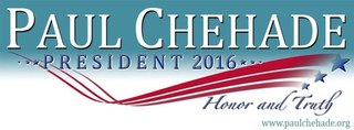 Paul Chehade candidate for US President 2016.