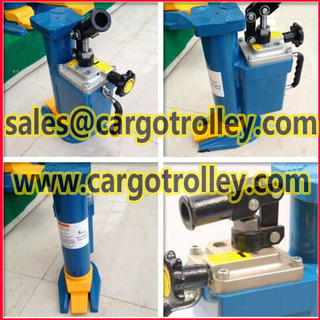 Hydraulic toe jack with durable quality