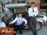 Delorean Hire Delorean Wedding Car Hire BTTF Car Hire Wedding Photos of Back to the Future Delorean Hire