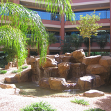 Chandler Falls water feature