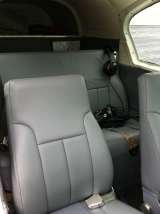 New grey leather interior in 2013, Harvard Air Taxi, LLC, Harvard
