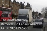 Pricelists of Removals Canary Wharf
