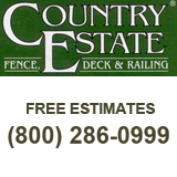 Country Estate Fence Co. Inc 1397 Jefferson Street