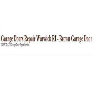 Garage Doors Repair Warwick RI - Brown Garage Door