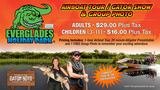 Pricelists of Everglades Holiday Park - Airboat Tours & Rides