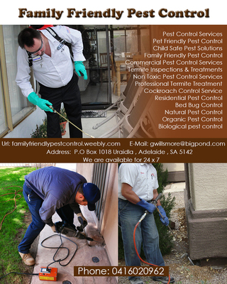 Family Friendly Pest Control | Pest Control Services in Adelaide