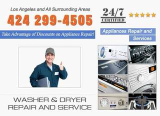 Washer Dryer Repair Los Angeles
