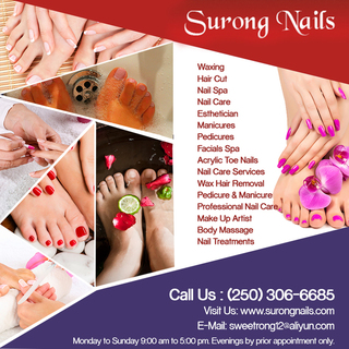 Surong Nails | Pedicure & Manicure in Armstrong