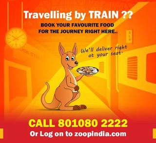 Food delivery service in trains