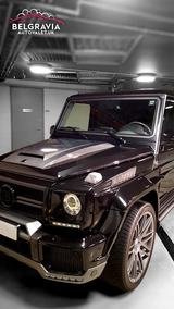 Mercedes G800 V12 Brabus Belgravia Auto Valet Limited - The Mobile Luxury Car Valeting Service Knightsbridge