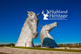 Visit the stunning Kelpies, Falkirk with Highland Heritage Coach Tours Highland Heritage Coach Tours Central Administration Office