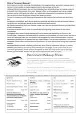 Pricelists of Flawless Tattoo and Permanent Makeup